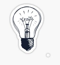 The Write Light Sticker