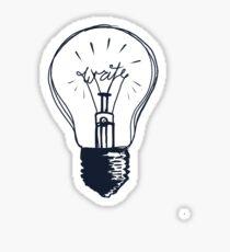 Pegatina La luz de escritura
