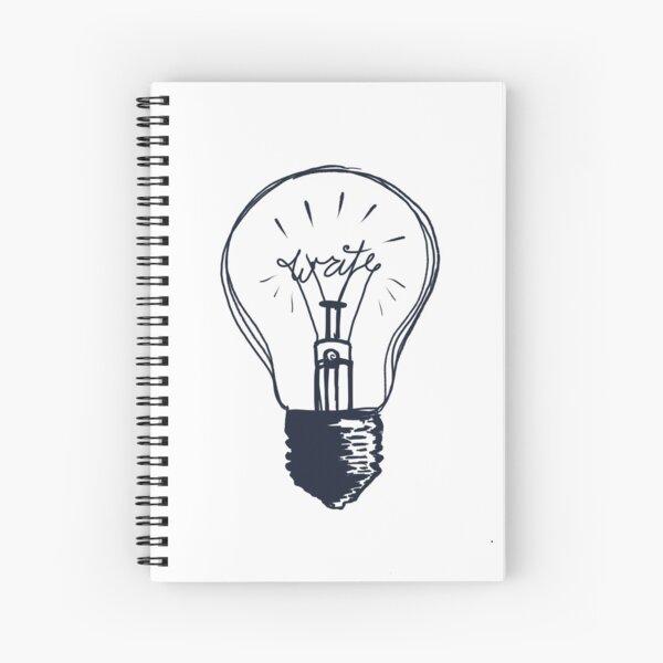 The Write Light Spiral Notebook