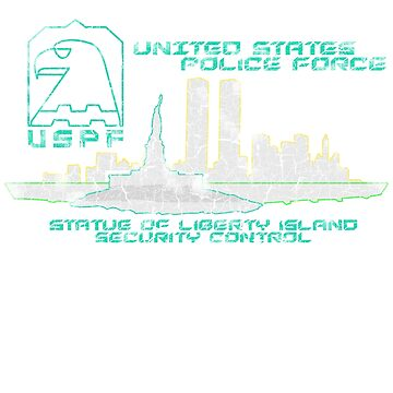 USPF Security Control (Escape from New York) by ImSecretlyGeeky