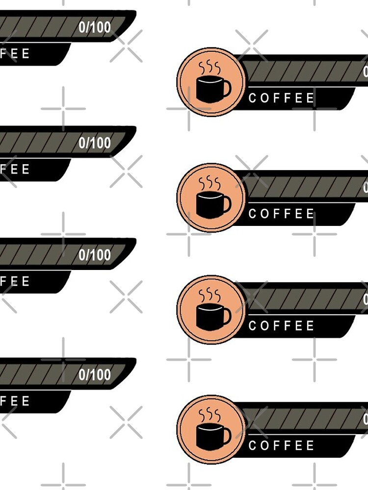 Low Coffee Level Planner Set by NicholiCosplay