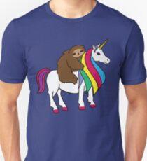 Niedliches Einhorn-Trägheits-Regenbogen-Hemd für Mädchen-Frauen Unisex T-Shirt