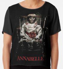 Annabelle the Haunted Doll Chiffon Top