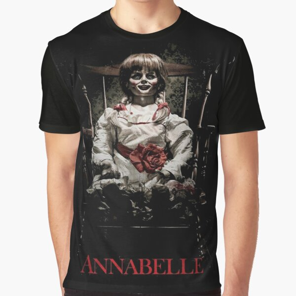 Annabelle the Haunted Doll Graphic T-Shirt