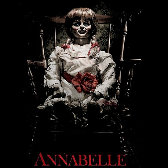 """Annabelle the Haunted Doll"""" Poster by cattrow 