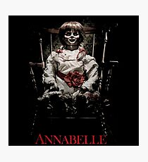 Annabelle the Haunted Doll Photographic Print