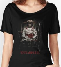Annabelle the Haunted Doll Women's Relaxed Fit T-Shirt