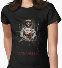 Annabelle the Haunted Doll Women's Fitted T-Shirt