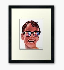 Sandlot summer  Framed Print
