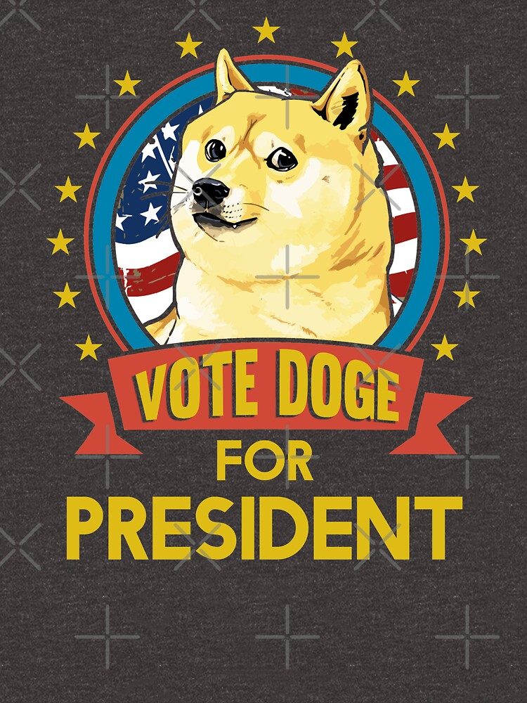 Vote Doge for President by MikeMcGreg