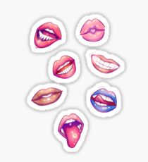 Don't Give Me Lip! Stickers Sticker