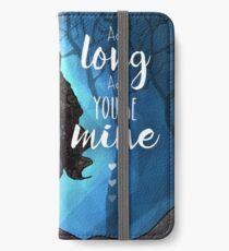 As Long As You're Mine - Elphaba & Fiyero iPhone Wallet