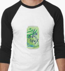 Lime La Croix Men's Baseball ¾ T-Shirt