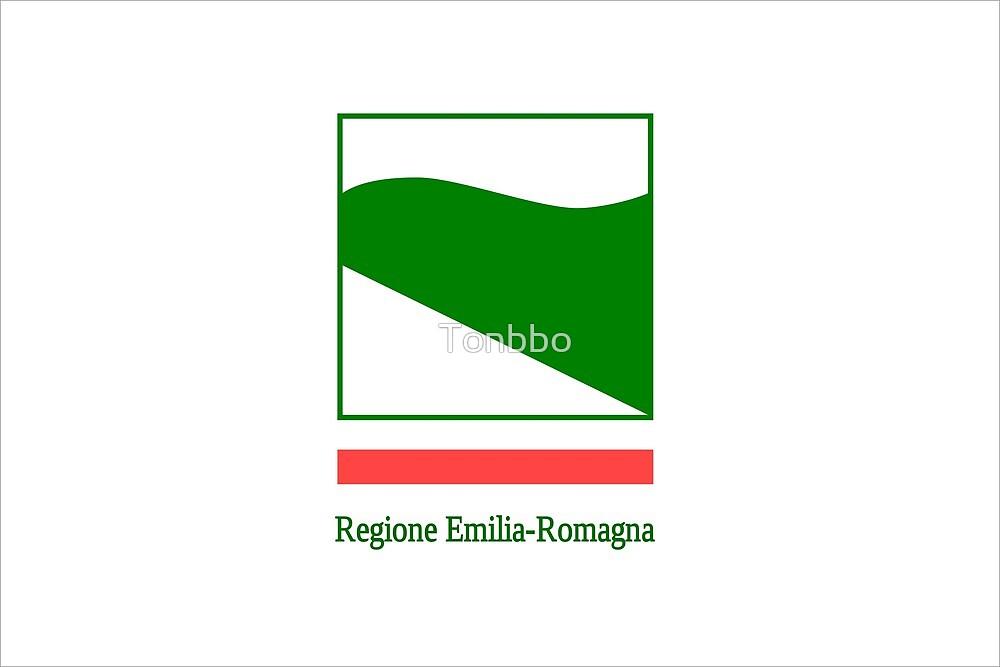 Flag of Emilia-Romagna, Italy by Tonbbo