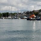 Stornoway Harbour by Terry Mooney