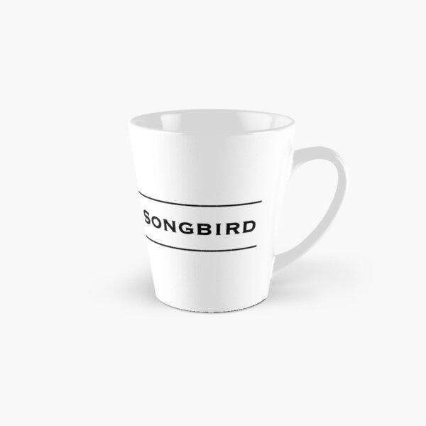The Unknown Songbird - Black logo 2 Tall Mug