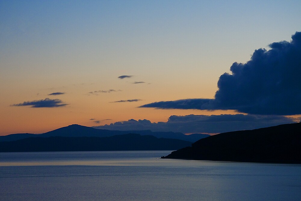 Applecross Sunset by Kirsty Hodge