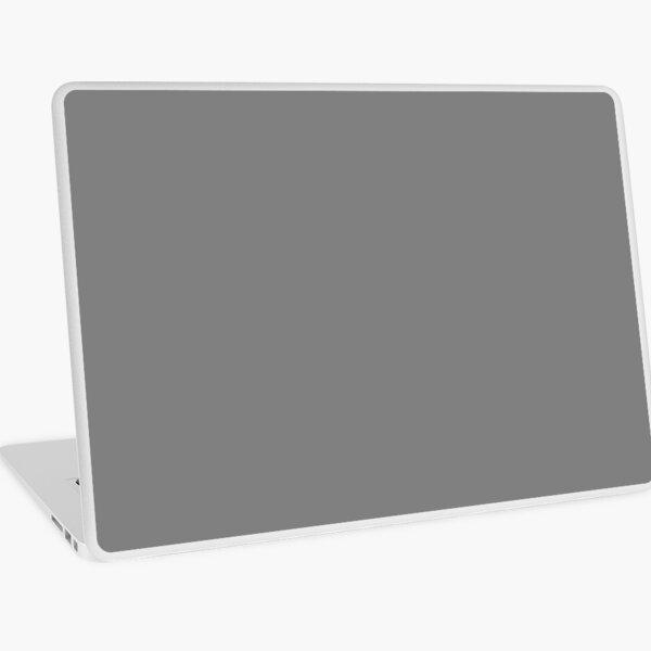 Beautiful Cushions/ Plain Grey / Gray / Solid Gray/ Solid Grey Laptop Skin