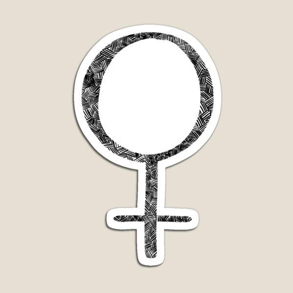 Hatchwork Sign of Venus Magnet