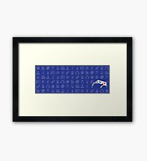 Redeeming Culture Logo and Icons Framed Print