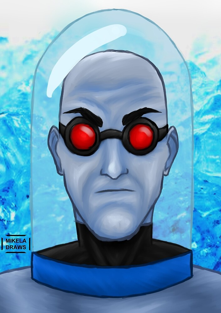 Mr. Freeze by mikeladraws