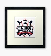 Sandlot summer Framed Print