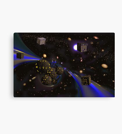 Borg Space. Canvas Print