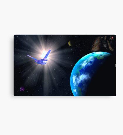 Solar Voyage Canvas Print