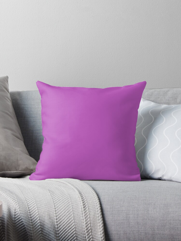 Solid color | Deep Fuchsia | Pink by ozcushions