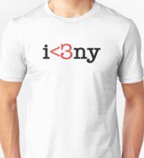 Modern New York Love T-Shirt