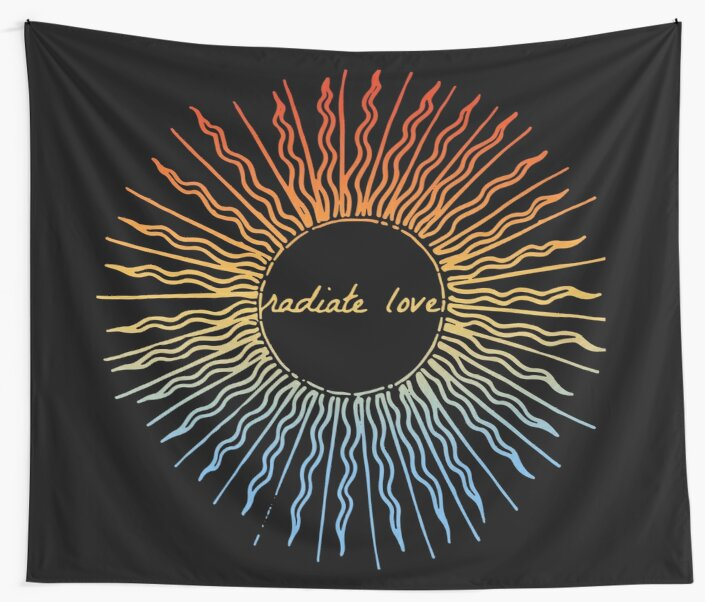 Radiate Love ~ Colours of the Sky by wildtribe