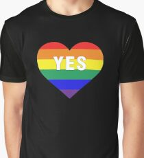 love yes Graphic T-Shirt