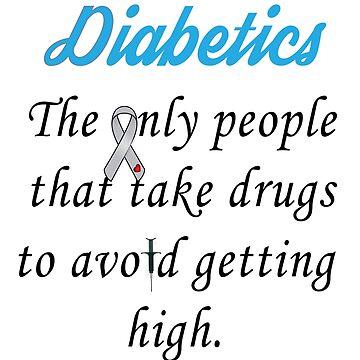 Diabetics  by Telamarine