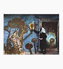 Baba Yaga Gives Vasilisa the Beautiful The Power To Blow The Heads Off Her Foes Photographic Print