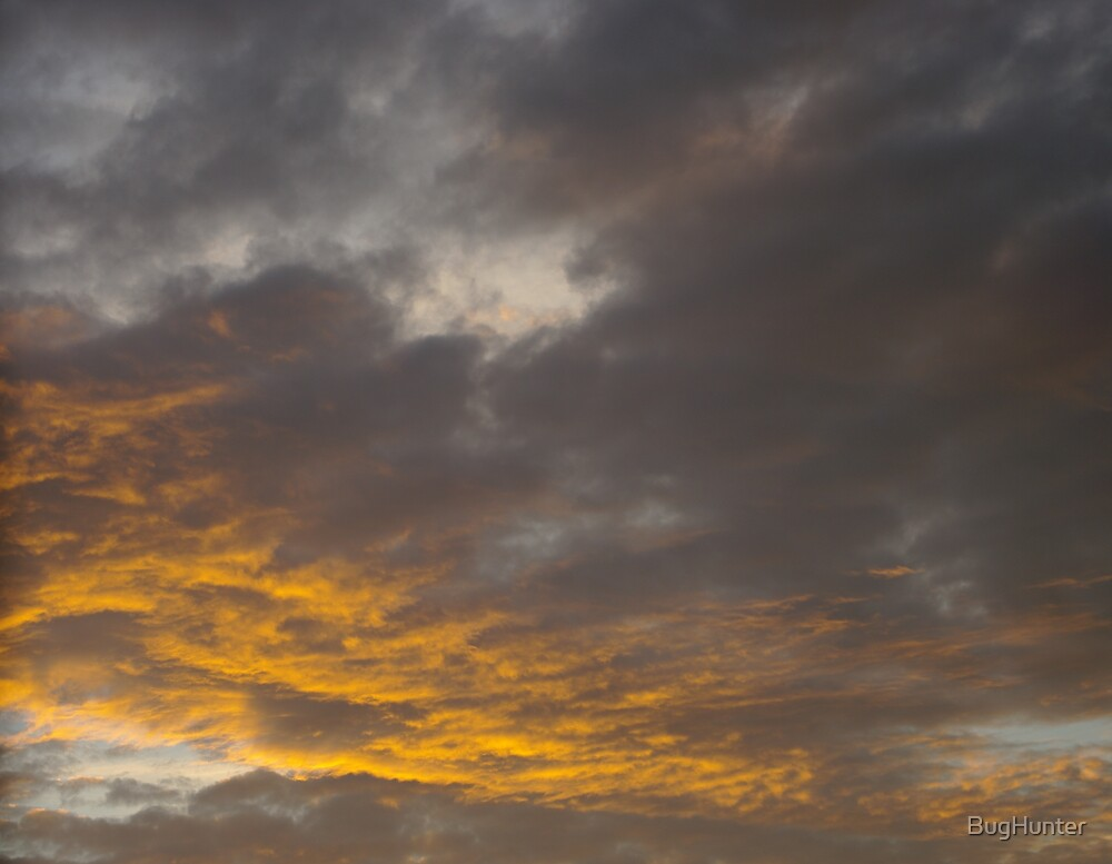 Sunset after the storms by BugHunter