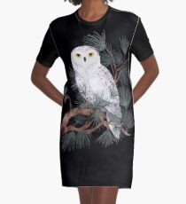 Snowy Graphic T-Shirt Dress