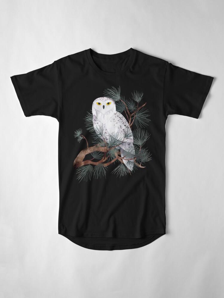 Alternate view of Snowy Long T-Shirt