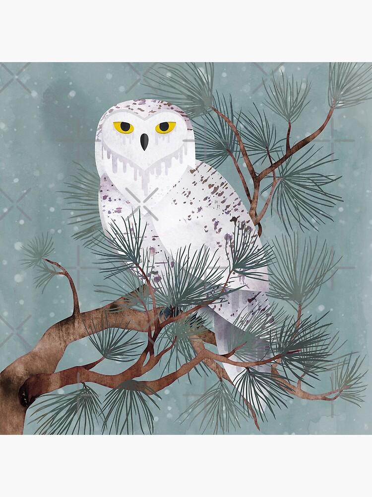 Snowy by littleclyde