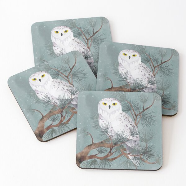Snowy Coasters (Set of 4)