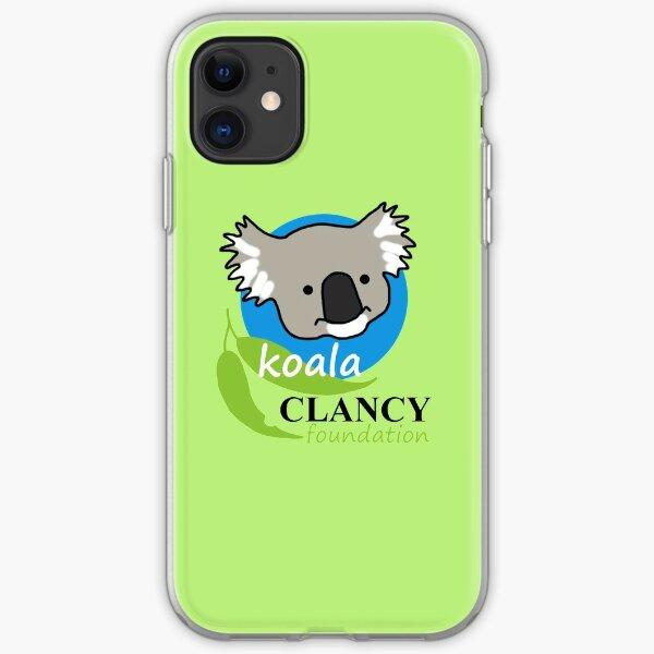 Koala Clancy Foundation - large logo iPhone Soft Case