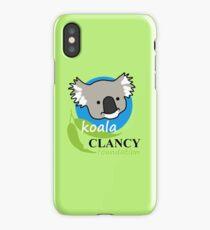 Koala Clancy Foundation - large logo iPhone Case/Skin