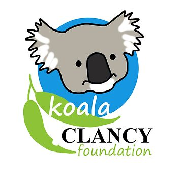 Koala Clancy Foundation - large logo by koalajanine