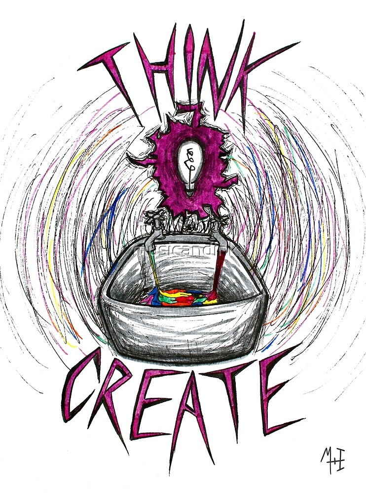 THINK/CREATE by musicandink