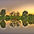 Symmetrical Sunset by Daniel Knights