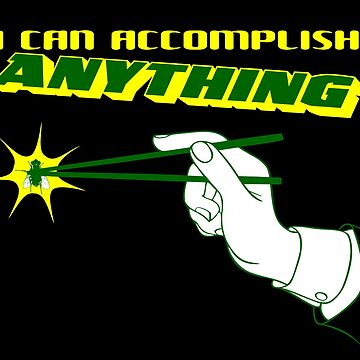 I Can Accomplish Anything - Green and Yellow by BlueEyedDevil