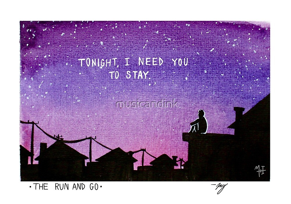 I Need You To Stay by musicandink