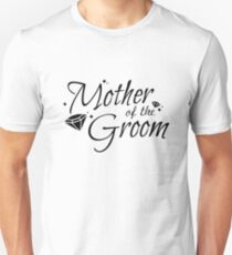 Mother of the Groom  Team Wedding Bride Groom T-Shirt