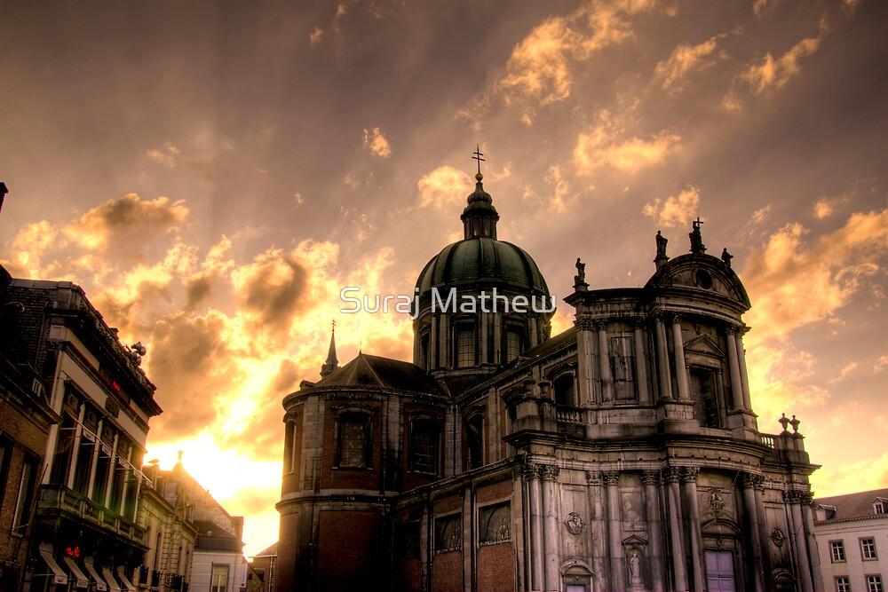 Saint Aubain, Namur by Suraj Mathew