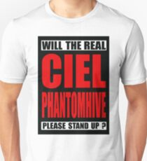 Will The Real Ciel Phantomhive Please Stand Up? Unisex T-Shirt