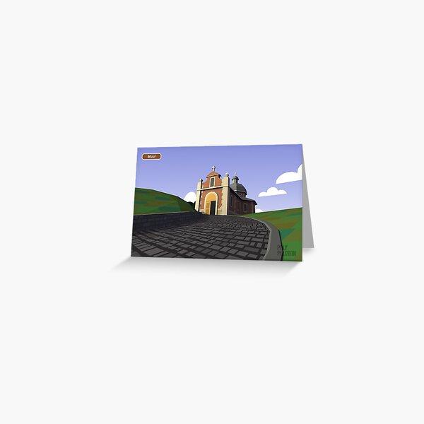 #PolyPeloton : Postcards - Muur Greeting Card